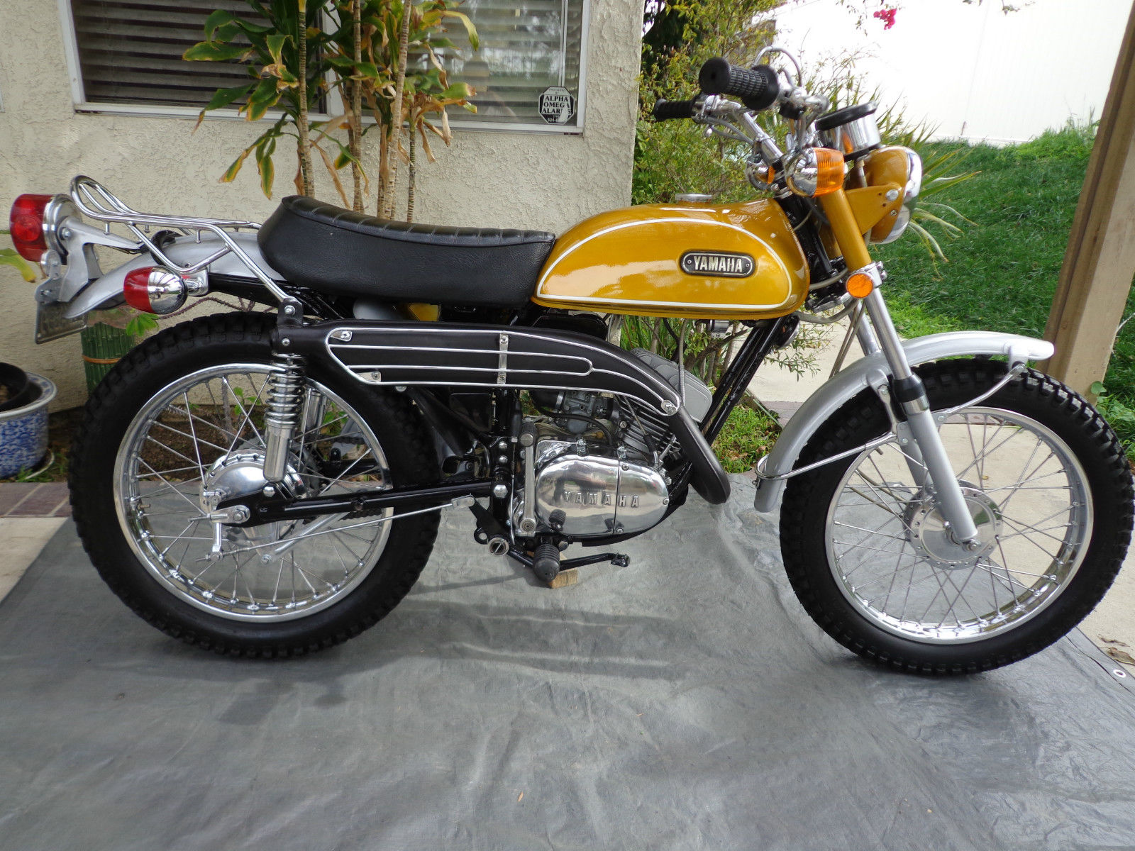 Yamaha CT1 175 Enduro - 1971 - Restored Classic Motorcycles