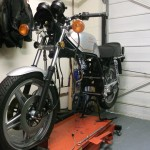 Honda CBX1000 - 1978 - Restoration, Front Forks, Frant Wheel and Mudguard.