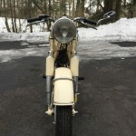 BMW R27 - 1965 - Front Forks, Fender and Headlight.