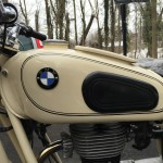 BMW R27 - 1965 - Gas Tank, Dover White.