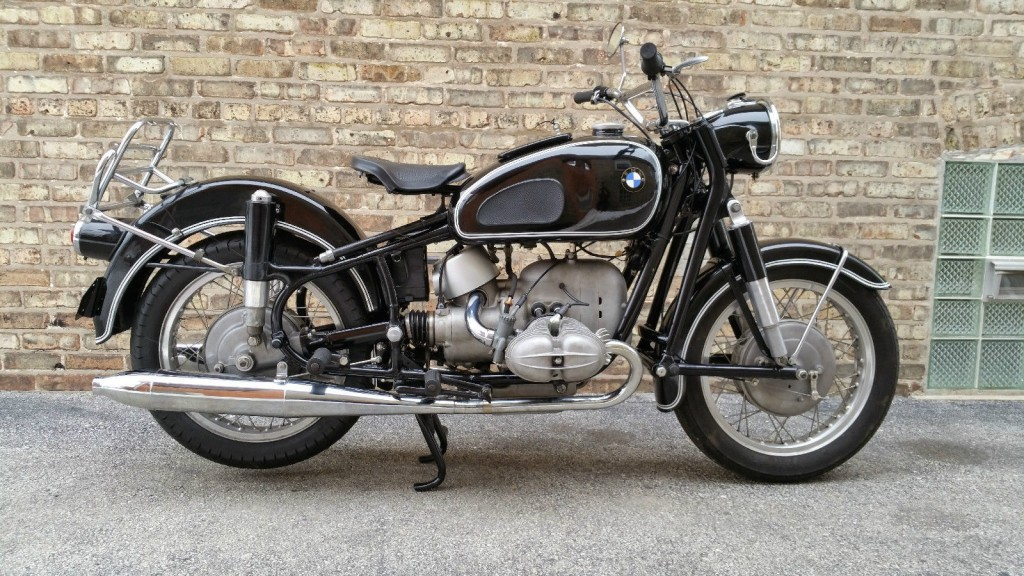 bmw r69s - 1963 - restored classic motorcycles at bikes restored