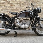 BMW R69S - 1963 - Engine and Gearbox, Air Filter, Carburettors, Stand and Frame.