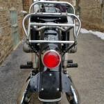 BMW R69S - 1963 - Rear Fender, Rear Light, Rack and Mufflers.