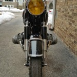 BMW R69S - 1963 - Front Wheel, Front Fender and Headlight.