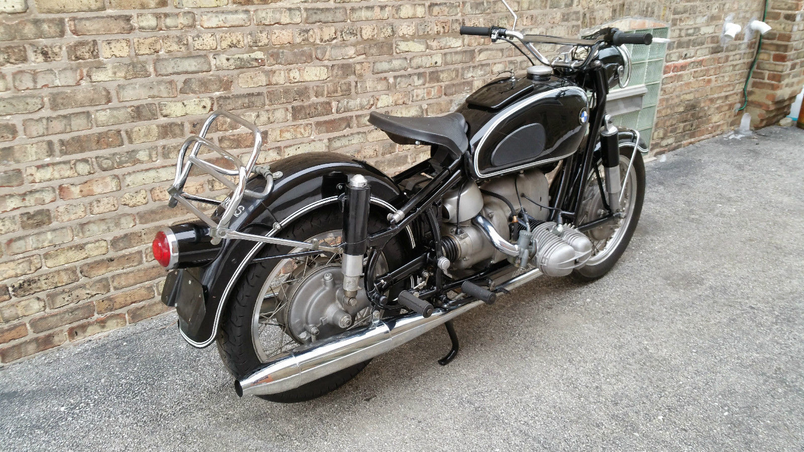 restored bmw r69s - 1963 photographs at classic bikes restored