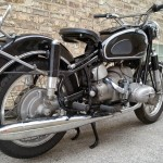 BMW R69S - 1963 - Rear Shock, Shaft Drive, Silencer and Frame.