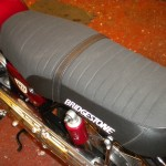 Bridgestone Mach11 -1969 - Seat, Shock Absorber Top Mounting.