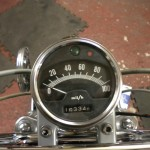 Bridgestone Mach11 -1969 - Original Speedo.