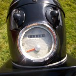 BSA Bantam D14 - 1968 - Speedo and Headlight.