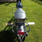 BSA Bantam D14 - 1968 - Rear Light, Number Plate and Seat.