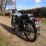 BSA Gold Star Replica - 1960 - Rear Light, Licence Plate Holder, Rear Fender and Mudguard.
