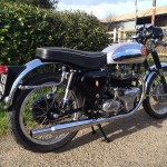 BSA Gold Star Replica - 1960 - Gas Tank, Seat, Rear Fender, Number Plate, Rear Light and Shocks.