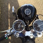 BSA Gold Star Replica - 1960 - Clocks, Speedo and Tacho, Gauges and Headlight.