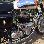 BSA Gold Star Replica - 1960 - Engine and Gearbox, Timing Chain Cover, Kick Start, Exhaust and Oil Tank.