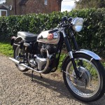 BSA Gold Star Replica - 1960 - Headlight, Frame, Stand, BSA Badge, Rear Sets and Footrests.