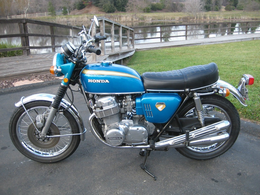 Restored Honda Cb750 K0 1970 Photographs At Classic
