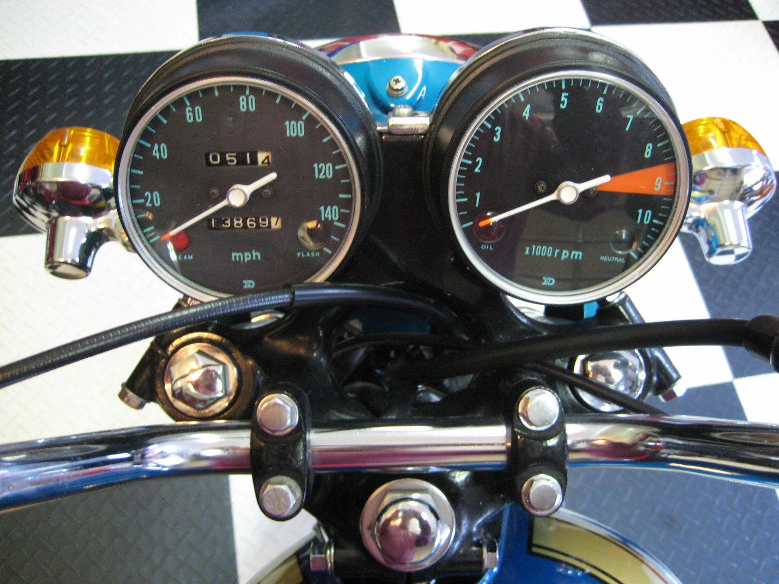 Honda CB750 K0 - 1970 - Clocks, Speedo and Tacho, Handlebars and Cables.