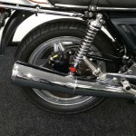 Honda CBX1000 - 1978 - Exhaust, Muffler, Frame and Grab Rail.
