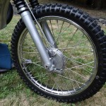 Husqvarna Viking 360 - 1967 - Front Brake, Wheel and Hub.