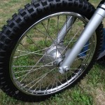 Husqvarna Viking 360 - 1967 - Front Wheel and Forks.