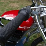 Husqvarna Viking 360 - 1967 - Throttle, Grip, Brake Lever.