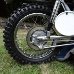 Husqvarna Viking 360 - 1967 - rear Wheel, Shock and Brake.