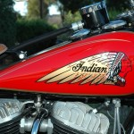 Indian Chief - 1935 - Gas Tank, Indian Emblem.