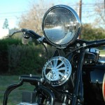 Indian Chief - 1935 - Headlight and Horn.