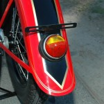 Indian Chief - 1935 - Rear Fender and Light.