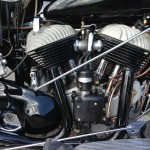 Indian Chief - 1947 - Motor and Transmission,, Exhausts, Distributor and Cylinders.