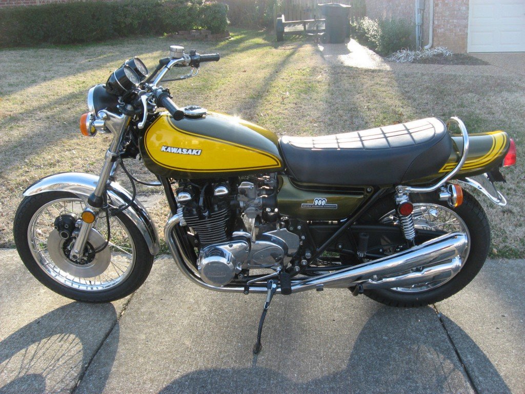 Restored Kawasaki Z1 1973 Photographs At Classic Bikes