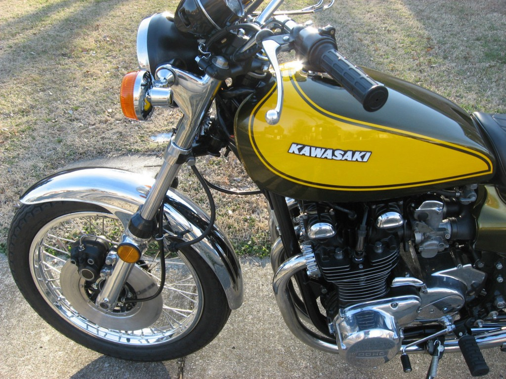 restored kawasaki z1 1973 photographs at classic bikes restored bikes restored. Black Bedroom Furniture Sets. Home Design Ideas