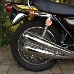 Kawasaki Z1 - 1974 - Exhausts, Rear Shock, Grab Rail and Tail Piece.