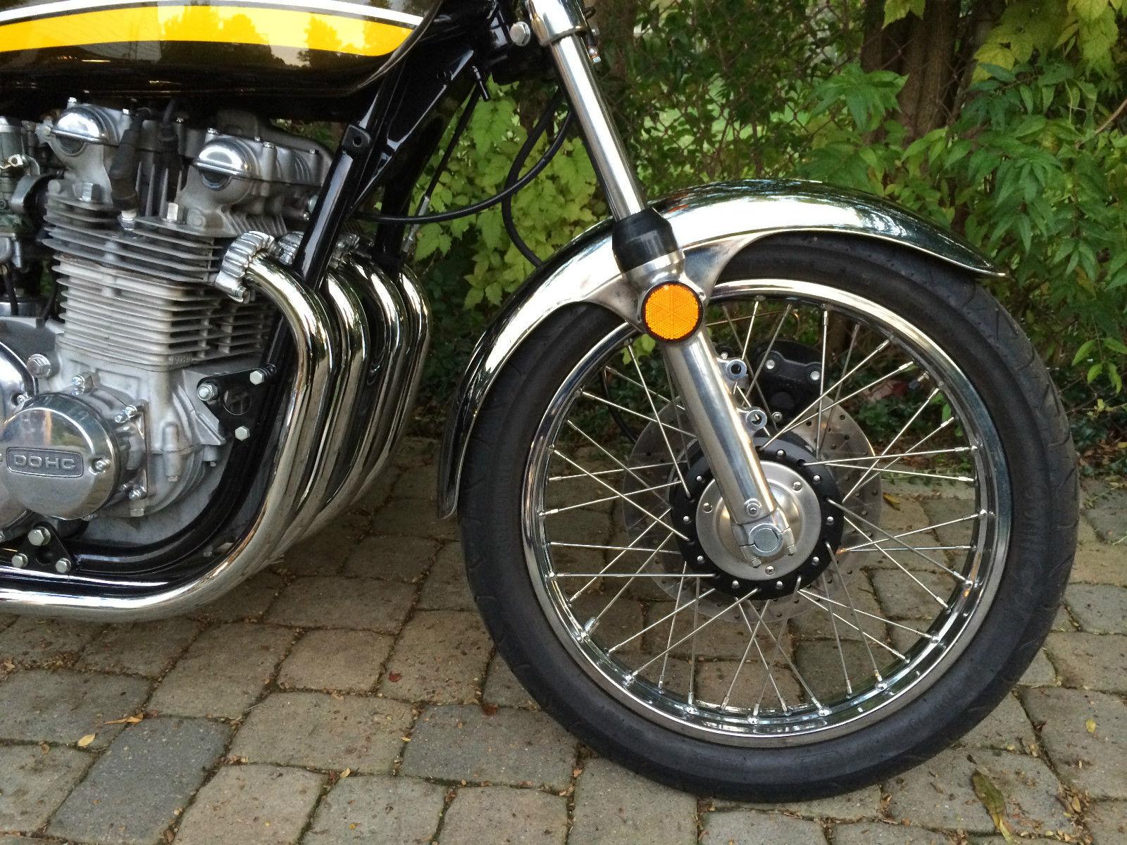 Restored Kawasaki Z1 1974 Photographs At Classic Bikes