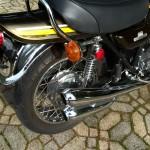 Kawasaki Z1 - 1974 - Tail Piece, Indicator and Grab Rail.