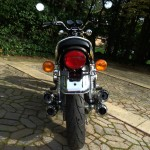 Kawasaki Z1 - 1974 - Rear Light, Mudguard and Tyre.