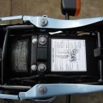 Kawasaki Z1-R - 1978 - Under Seat, Information Sticker, Inner Mudguard and Frame.
