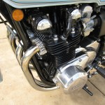 Kawasaki Z1-R - 1978 - Engine, Alternator Cover, Cam Cover, Frame, Reflector and Exhausts.