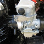 Kawasaki Z1-R - 1978 - Carburettor and Choke Lever.