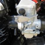 Kawasaki Z1-R - 1978 - Carburettor and Choke Lever.
