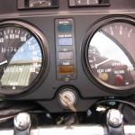 Kawasaki Z1-R - 1978 - Dash, Cockpit, Speedo Tacho, Clocks, Warning Lights and Ignition Switch.