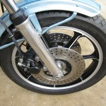 Kawasaki Z1-R - 1978 - Mudguard, Disc Brakes, Brake Pipes and Oil Seal Cover.