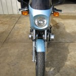 Kawasaki Z1-R - 1978 - Front Wheel, Fender, Forks and Fairing.