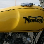 Norton Commando -1975 - Gas Tank, Norton Logo and Petrol Cap.