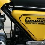 Norton Commando -1975 - Frame, Side Panel, 850 Commando Electric Start Decal.
