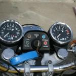 Norton Commando -1975 - Clocks, Speedo and Tacho, Ignition Switch and Key.