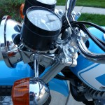Suzuki TS250 - 1972 - Speedo, Flasher, Fork and Handlebar.