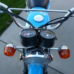 Suzuki TS250 - 1972 - Headlight, Clocks and Fender.