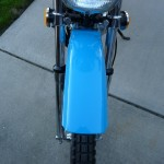 Suzuki TS250 - 1972 - Front Fender and Light.