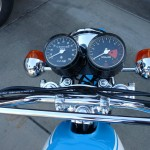Suzuki TS250 - 1972 - Clocks, Gauges, Speedo And Tacho.